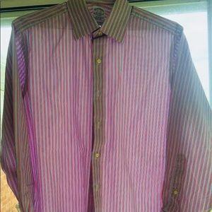 Brooks Brothers Shirts - BROOK BROTHERS EGYPTIAN COTTON DRESS SHIRT 15.5x33